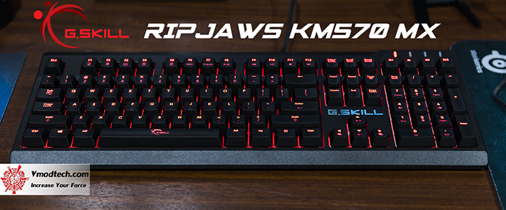G.SKILL RIPJAWS KM570 MX Mechanical Gaming Keyboard Review