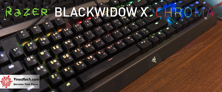 default thumb RAZER BLACKWIDOW X CHROMA Review