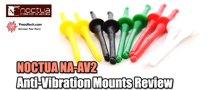 default thumb NOCTUA NA-AV2 Anti-Vibration Mounts Review