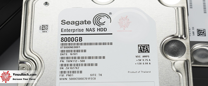 default thumb SEAGATE ST8000NE0001 Enterprise NAS HDD 8TB Review