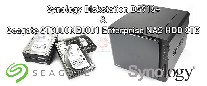 Synology Diskstation DS916+ and Seagate ST8000NE0001 8TB Review