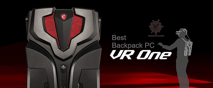 MSI VR ONE World's lightest VR backpack PC Review