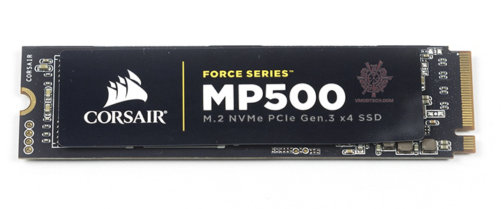 CORSAIR FORCE MP500 M.2 NVMe V1.2 PCIe Gen.3 x4 SSD 480GB Review