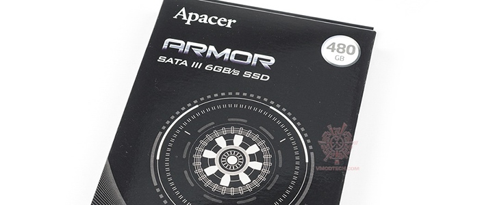 APACER ARMOR AS681 480GB SSD SATA III Review