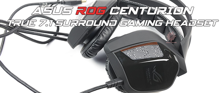 default thumb ASUS ROG CENTURION True 7.1 Surround Gaming Headset Review