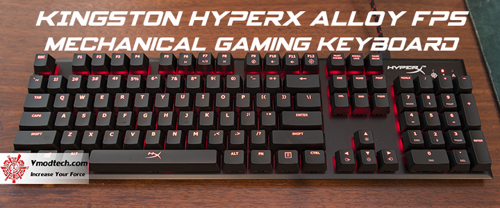 default thumb KINGSTON HYPERX Alloy FPS Mechanical Gaming Keyboard Review