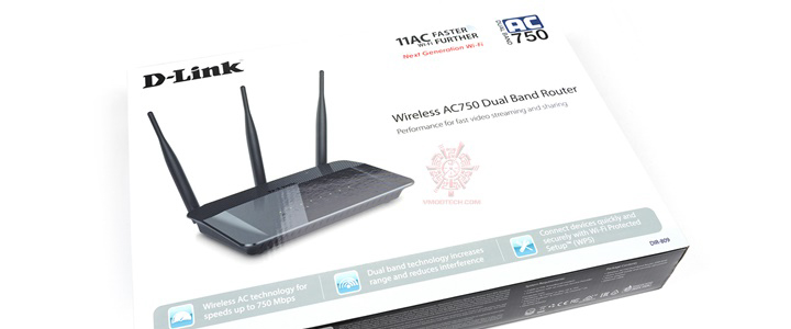 D-Link DIR-809 Wireless AC750 Dual Band Router Review