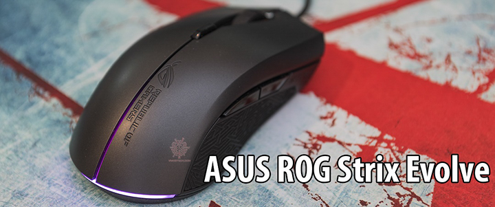 default thumb ASUS ROG Strix Evolve Gaming Mouse Review