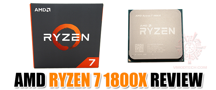 AMD RYZEN 7 1800X REVIEW