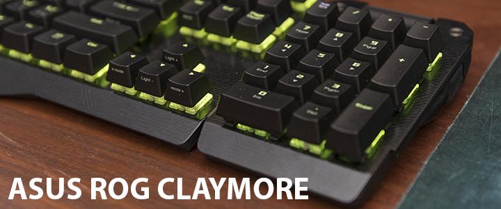 default thumb ASUS ROG Claymore RGB mechanical gaming keyboard