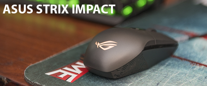 default thumb ASUS STRIX IMPACT Gaming Mouse Review