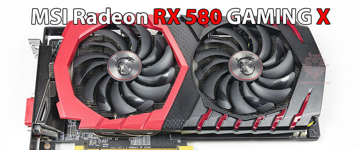 MSI Radeon RX 580 GAMING X 8GB Review