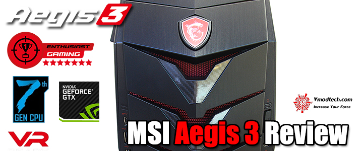 default thumb MSI Aegis 3 Review