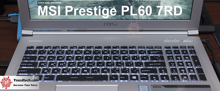 MSI PRESTIGE PL60 7RD Review