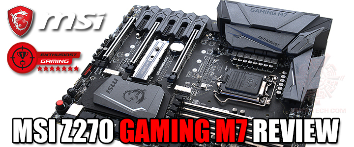 default thumb MSI Z270 GAMING M7 REVIEW