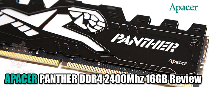APACER PANTHER DDR4 2400Mhz 16GB Review