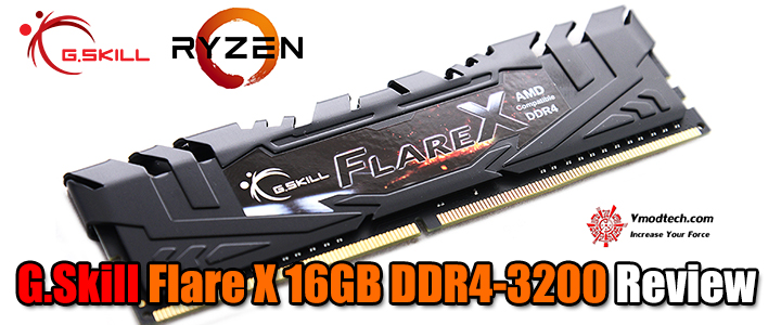G.Skill Flare X 16GB DDR4-3200 Review