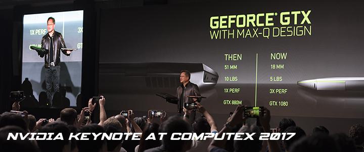 default thumb NVIDIA Keynote at Computex 2017