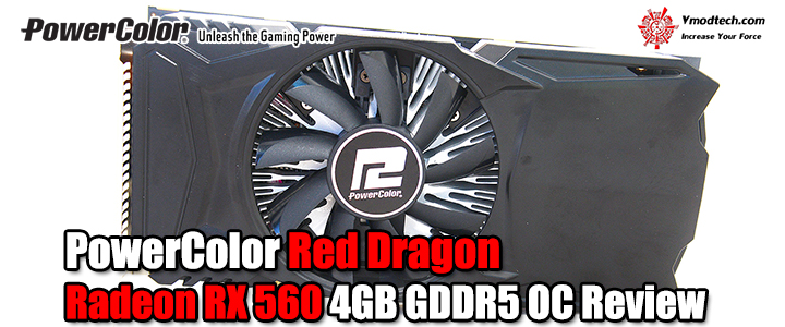default thumb PowerColor Red Dragon Radeon RX 560 4GB GDDR5 OC Review