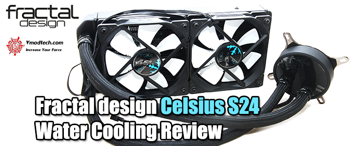 default thumb Fractal design Celsius S24 Water Cooling Review