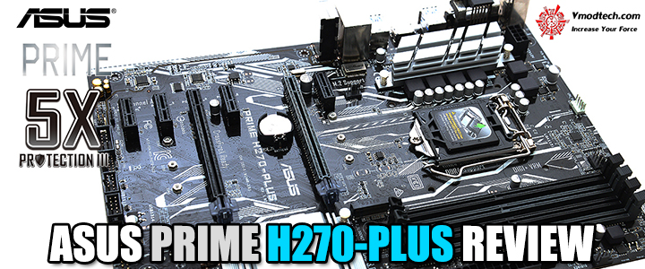 ASUS PRIME H270-PLUS REVIEW