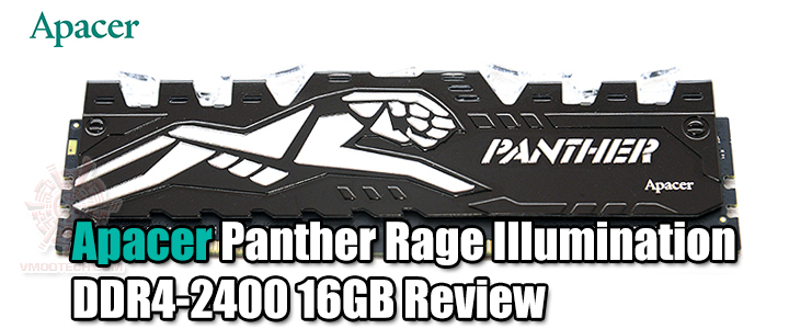 default thumb Apacer Panther Rage Illumination DDR4-2400 16GB Review