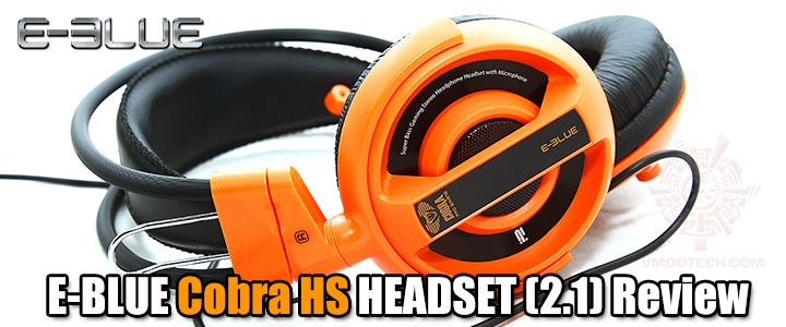 E-BLUE Cobra HS HEADSET (2.1) Review