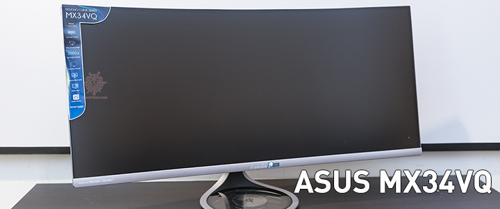 default thumb ASUS MX34VQ Ultra-wide Curved Monitor - 34 inch UWQHD Review