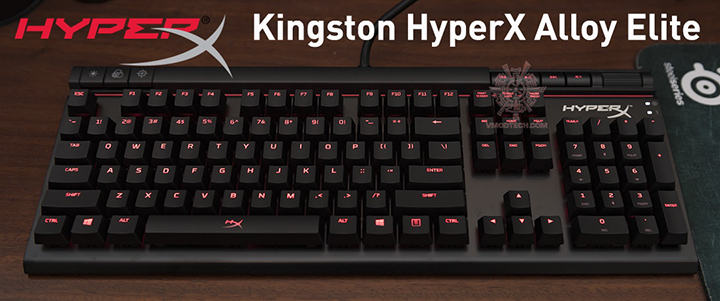 Kingston HyperX Alloy Elite Mechanical Gaming Keyboard Review