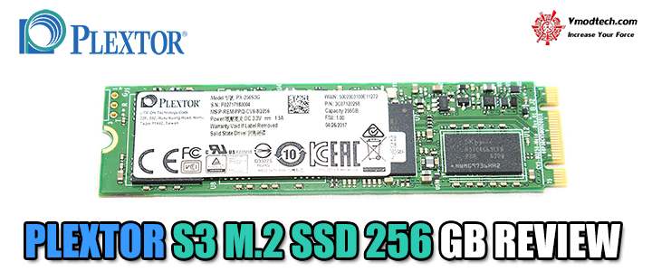 PLEXTOR S3 M.2 SSD 256 GB REVIEW