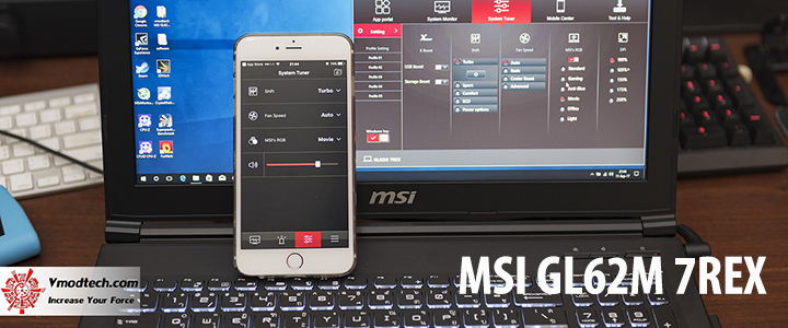 default thumb MSI GL62M 7REX Review