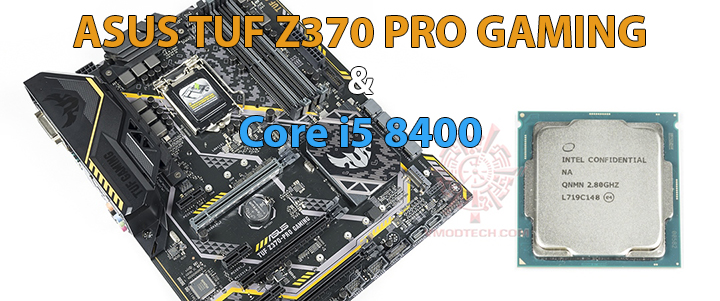 Intel Core i5 8400 & ASUS TUF Z370-PRO Gaming Review