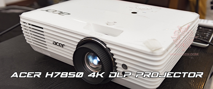 ACER H7850 4K DLP Projector Review