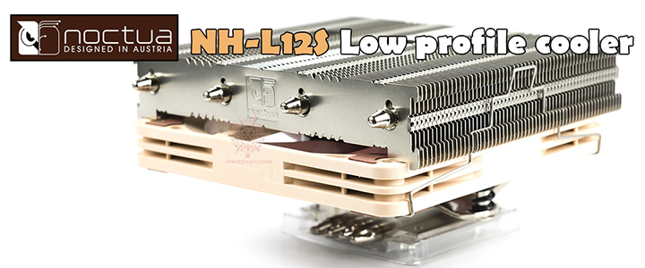 noctua NH-L12S Low Profile CPU Cooler Review