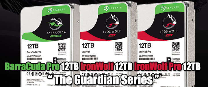 default thumb BarraCuda Pro 12TB IronWolf 12TB IronWolf Pro 12TB The Guardian Series
