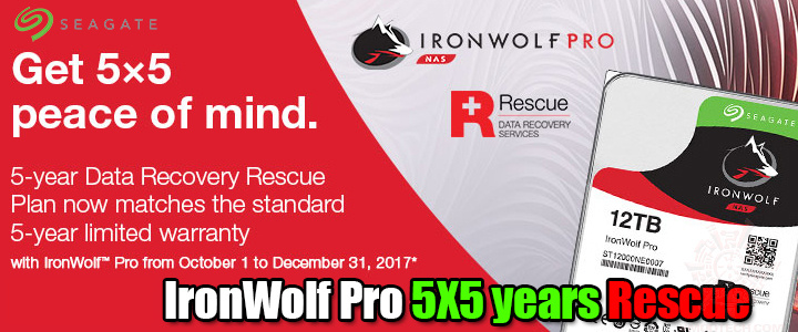 default thumb IronWolf Pro 5X5 years Rescue