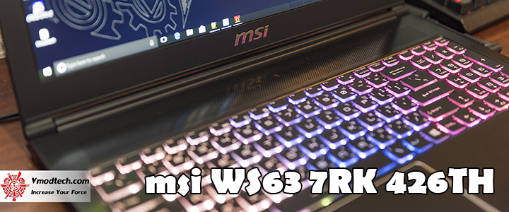 default thumb MSI WS63 7RK Review