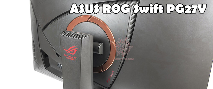 default thumb ASUS ROG SWIFT PG27VQ Curved Gaming Monitor – 27 inch 2K WQHD Review