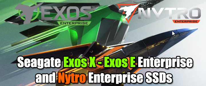 default thumb Seagate Exos X - Exos E Enterprise and Nytro Enterprise SSDs