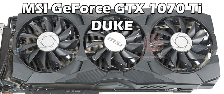default thumb MSI GeForce GTX 1070 Ti DUKE 8G Review