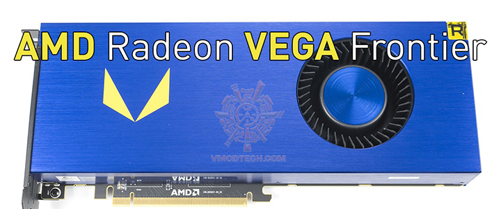 default thumb AMD Radeon VEGA FRONTIER Edition 16GB HBM2 Review