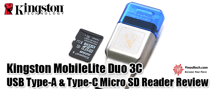 default thumb Kingston MobileLite Duo 3C USB Type-A & Type-C Micro SD Reader Review