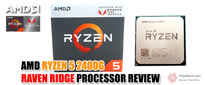 default thumb AMD RYZEN 5 2400G RAVEN RIDGE PROCESSOR REVIEW