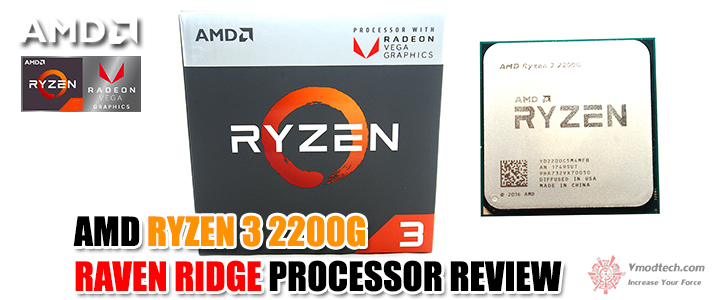 default thumb AMD RYZEN 3 2200G RAVEN RIDGE PROCESSOR REVIEW