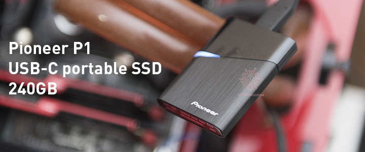 default thumb Pioneer P1 USB-C portable SSD 240GB Review