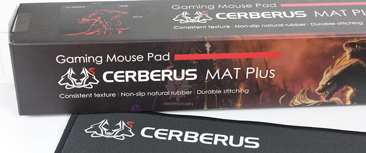default thumb ASUS CERBERUS MAT Plus Gaming Mouse Pad Review