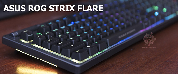 default thumb ASUS ROG STRIX FLARE Mechanical Gaming Keyboard