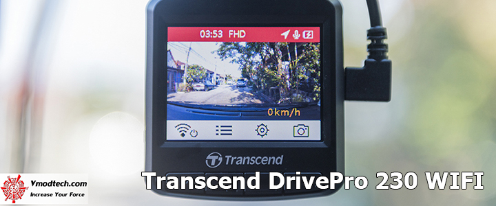 Transcend Dashcam DrivePro 230 WIFI Review
