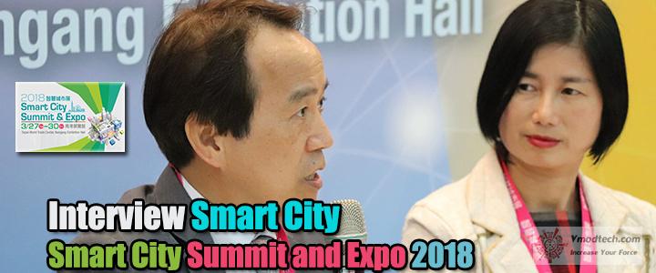Interview Smart City SCSE 2018 ณ กรุงไทเป ประเทศไต้หวัน