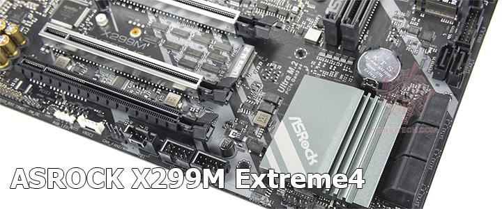 ASROCK X299M Extreme4 LGA-2066 Review